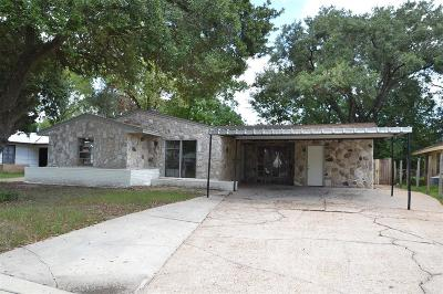 Houston TX Single Family Home For Sale: $142,000