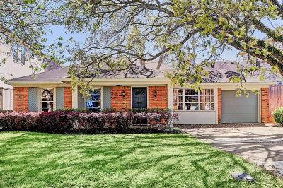 Bellaire Single Family Home For Sale: 4611 Beech Street