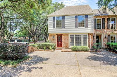 Memorial Condo/Townhouse For Sale: 13082 Trail Hollow Drive