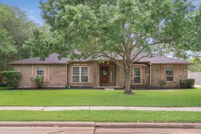 Friendswood Single Family Home For Sale: 1302 Bayou Oak Drive