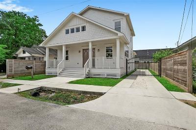 Houston Single Family Home For Sale: 309 Morris Street