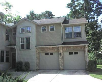 The Woodlands Condo/Townhouse For Sale: 83 Woodlily Place #83