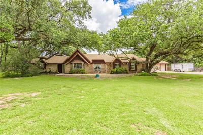 Manvel Single Family Home For Sale: 9602 Oakcrest Drive