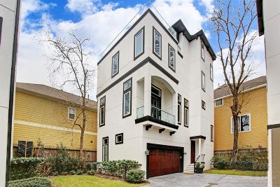 Houston Single Family Home For Sale: 1205 W 16th Street #4