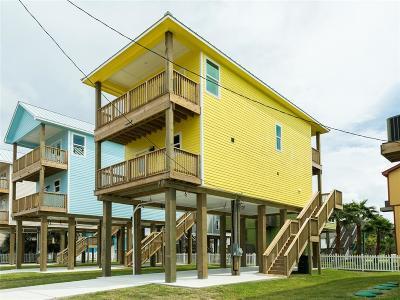 Galveston Single Family Home For Sale: 11225 Schwartz Drive