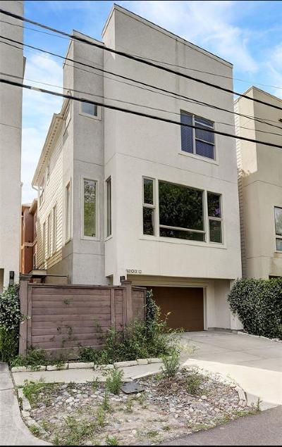 Rice Military Condo/Townhouse For Sale: 1203 Reinerman Street #C