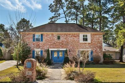 Spring Single Family Home For Sale: 4107 Cypress Lake Drive