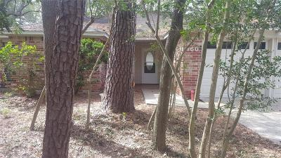 The Woodlands Single Family Home For Sale: 160 S Deerfoot Circle Circle
