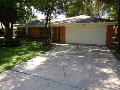 Houston Single Family Home For Sale: 415 Heidrich Street