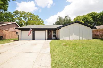 Seabrook Single Family Home For Sale: 1206 W Flamingo Drive