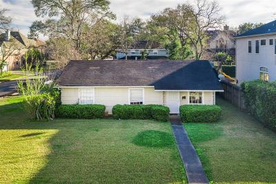 Harris County Single Family Home For Sale: 5401 Jessamine Street