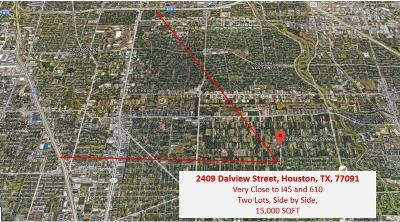 Houston Residential Lots & Land For Sale: 2409 Dalview Street