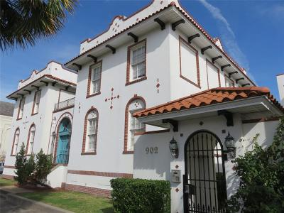 Galveston Condo/Townhouse For Sale: 902 22nd Street #6