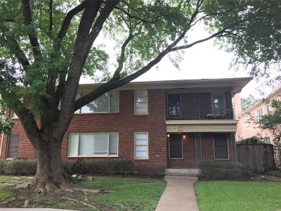 Houston Multi Family Home For Sale: 2326 Wordsworth