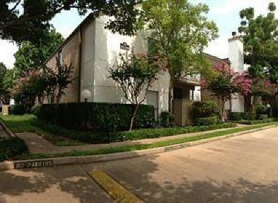 Houston Condo/Townhouse For Sale: 10051 Westpark Drive #274