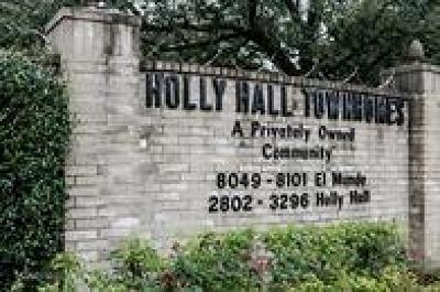 Houston Condo/Townhouse For Sale: 3212 Holly Hall Street #3212