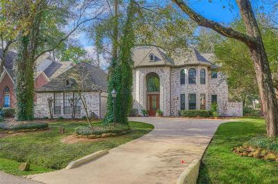 The Woodlands Single Family Home For Sale: 48 Sunlit Forest Drive