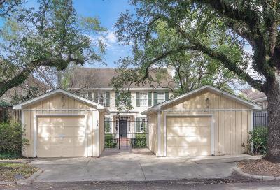 Houston Single Family Home For Sale: 608 Harold Street
