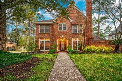 Kingwood Single Family Home For Sale: 3215 Spring Manor Drive