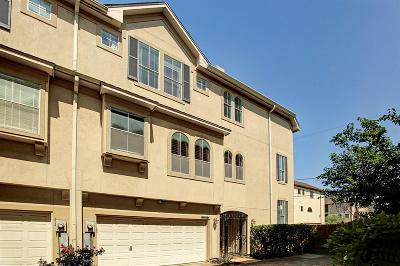Houston Condo/Townhouse For Sale: 4504 Rose Street