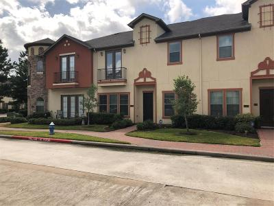 Houston Condo/Townhouse For Sale: 14578 San Pietro Drive