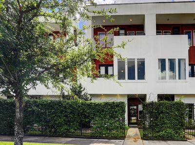 Houston Condo/Townhouse For Sale: 2744 Clay Street