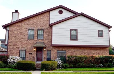 Bellaire Condo/Townhouse For Sale: 5615 Innsbruck Street