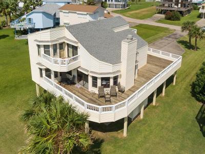 Galveston Single Family Home For Sale: 4117 Fiddler Crab Lane