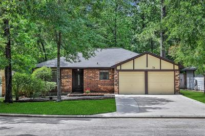 The Woodlands Single Family Home For Sale: 22 Tulip Hill Court