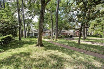 Houston Single Family Home For Sale: 11757 Memorial Drive