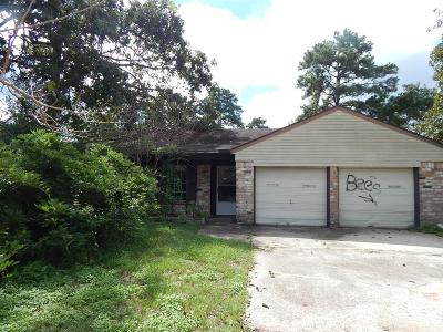 Conroe TX Single Family Home For Sale: $92,000