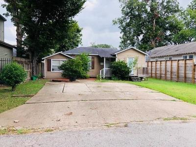 Houston Single Family Home For Sale: 1444 Alexander Street
