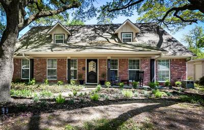 Houston Single Family Home For Sale: 1818 Maux Drive