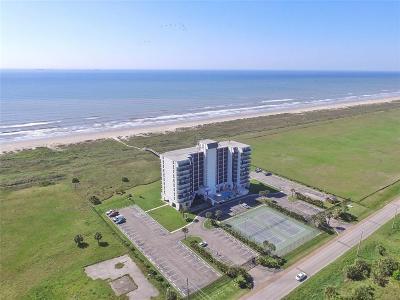 Galveston Mid/High-Rise For Sale: 415 E Beach Drive #808