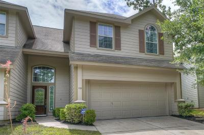 The Woodlands Condo/Townhouse For Sale: 119 Benedict Canyon Loop Loop