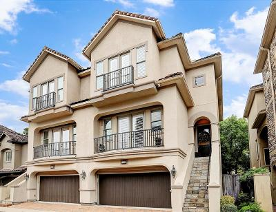 Houston Condo/Townhouse For Sale: 1218 E Hunters Creekway Drive
