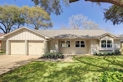 Houston Single Family Home For Sale: 2611 Tannehill Drive