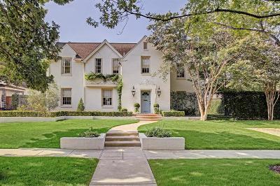 River Oaks Single Family Home For Sale: 3215 Locke Lane