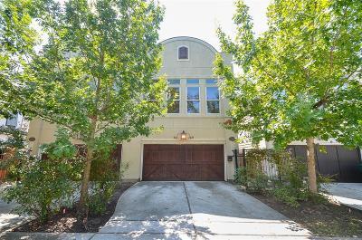 Houston Condo/Townhouse For Sale: 1027 Kern Street #B