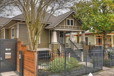 Houston Single Family Home For Sale: 1114 Welch Street