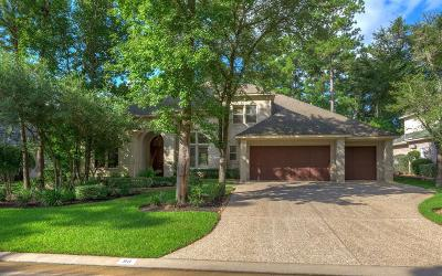 The Woodlands TX Single Family Home For Sale: $855,900