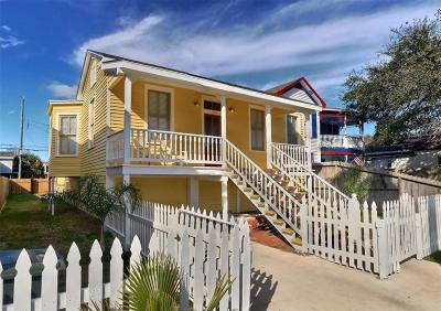 Galveston Single Family Home For Sale: 1724 Avenue N