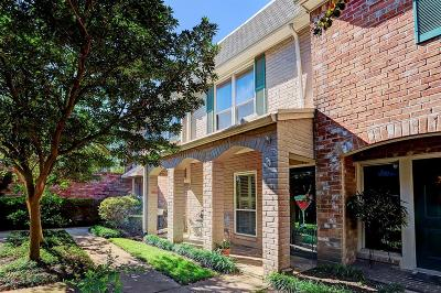 Houston Condo/Townhouse For Sale: 2232 S Piney Point Road #110