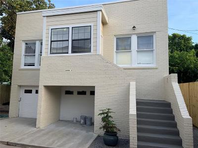 Galveston Single Family Home For Sale: 4906 Avenue O