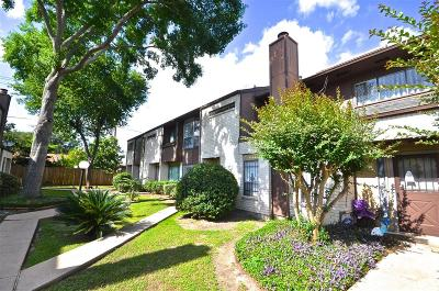 Houston Condo/Townhouse For Sale: 8316 Augustine Drive #B