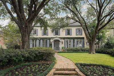 Houston Single Family Home For Sale: 3244 Avalon Place