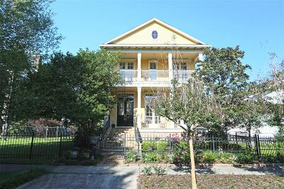 Houston Single Family Home For Sale: 1635 Columbia Street