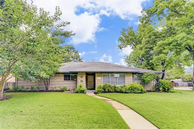 Houston Single Family Home For Sale: 5442 Jackwood Street