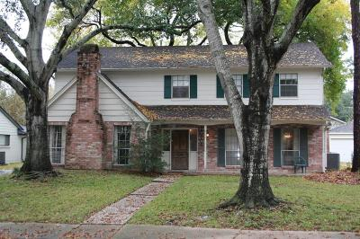 Houston Single Family Home For Sale: 10706 Holly Springs Drive