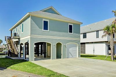 Tiki Island Single Family Home For Sale: 542 Sunset Circle